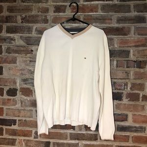 Tommy Hilfiger cream sweater